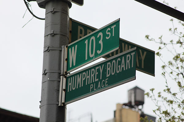 NYC street signs