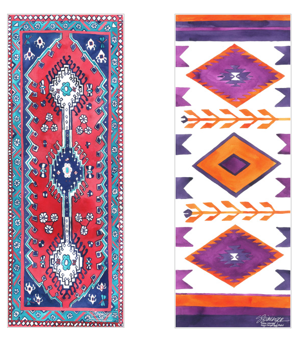 Magic Carpet yoga mats