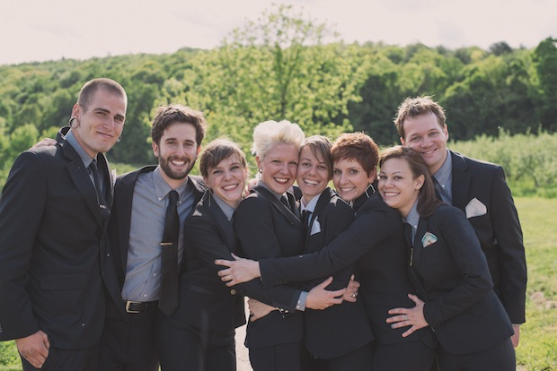 Wedding attendants / Love + Perry Photography