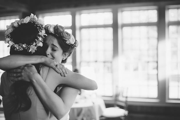 Bride and maid of honor / Love + Perry Photography