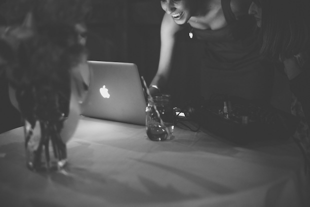 DJ table / Love + Perry Photography