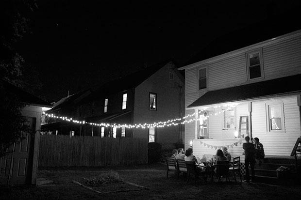 """Backyard """"thank-you"""" party"""