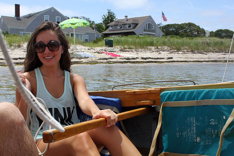 Sailing at Cape Cod