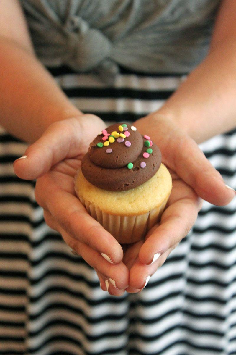 Cupcake at Tu-Lu's Gluten-Free Bakery