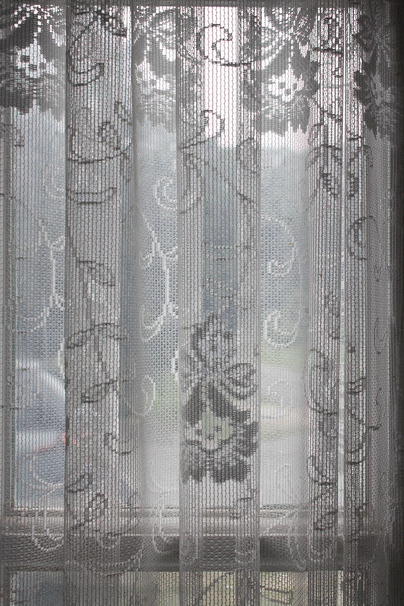 Lace curtains at Cape Cod