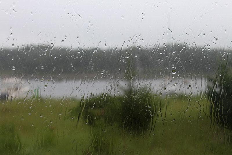 Rainy day at Cape Cod