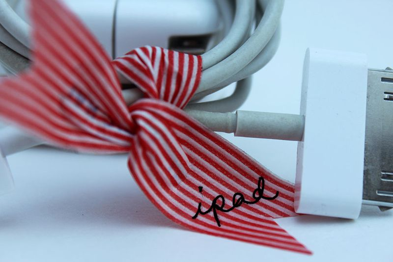 DIY Washi Tape Twist Tie