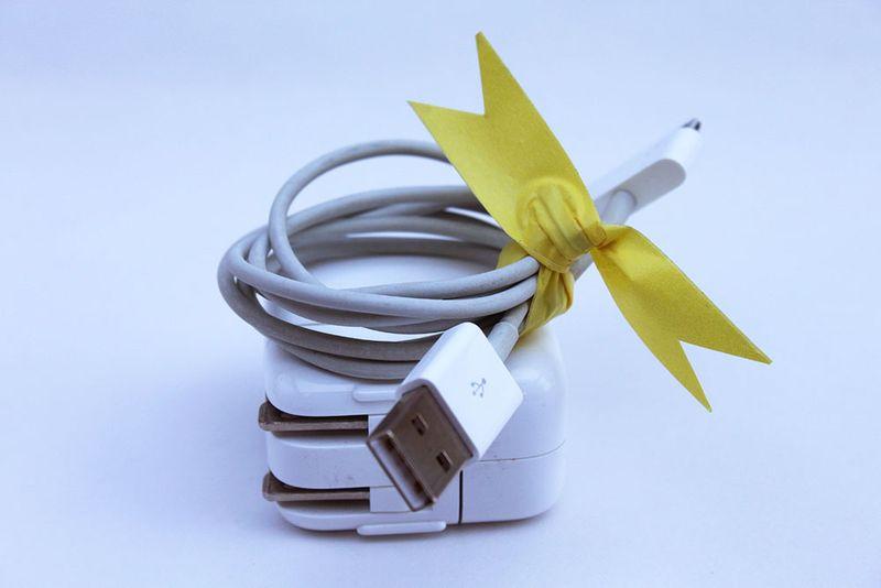 DIY Washi Tape Twist Tie